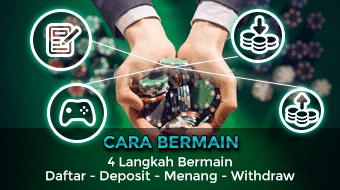 cara bermain, daftar akun, deposit saldo, tarik dana kemenangan