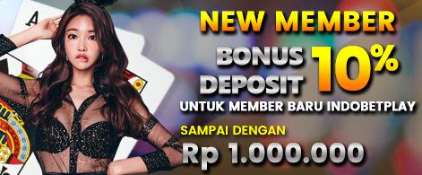 Agen Judi Bonus New Member